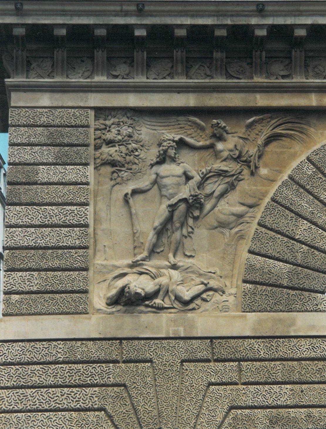 bas-relief saint martin