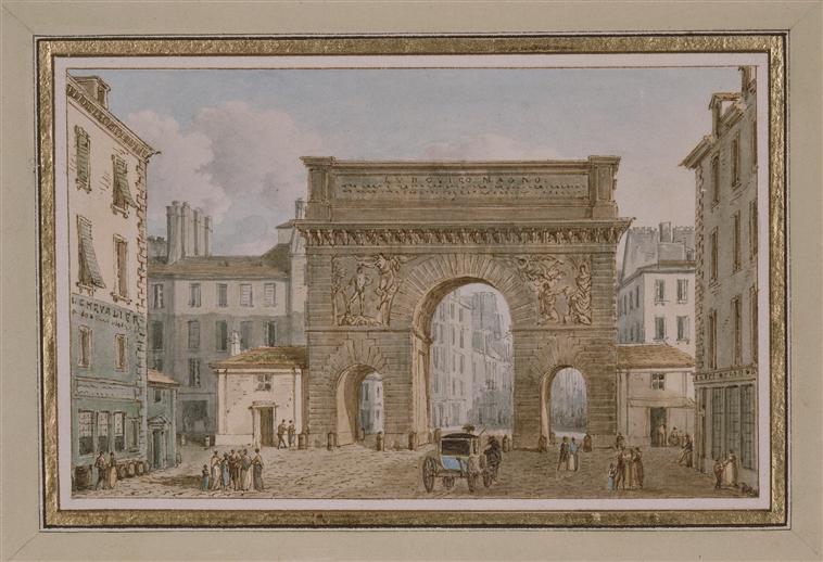 Voyageursaparistome10 archive du blog la porte saint for Porte saint martin